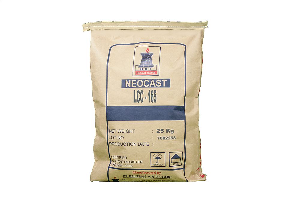 LOW CEMENT CASTABLE, LCC - Series